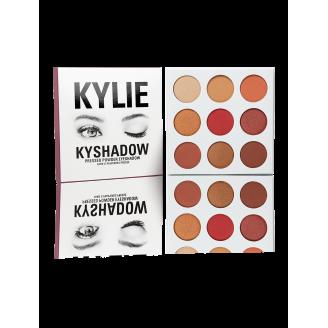 Палетка теней Kylie THE BURGUNDY PALETTE | KYSHADOW