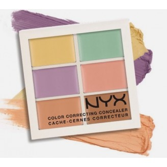 Палитра корректоров NYX COLOR CORRECTING PALETTE