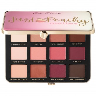 Палетка теней Too Faced Just Peachy Velvet Matte Eyeshadow Palette