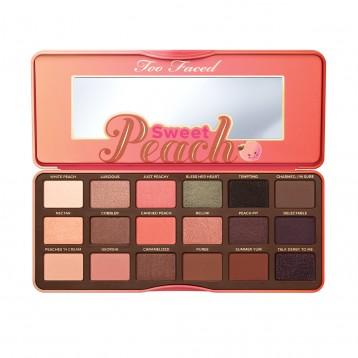 Палетка теней Too Faced Sweet Peach Eye Shadow