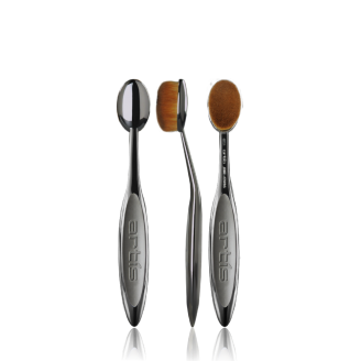 Кисть-щётка ARTIS BRUSH Elite Mirror Smoke Oval 6 Brush