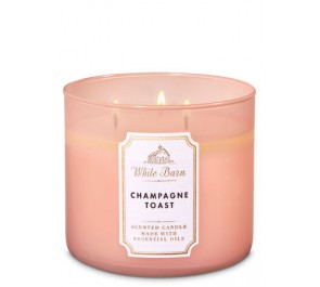 Парфюмированная свеча Bath & Body Works® White Barn 3-Wick Candle - CHAMPAGNE TOAST
