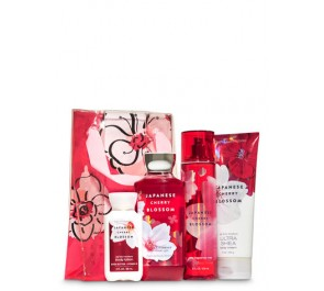 Подарочный набор Bath & Body Works Flower Power Gift Set - JAPANESE CHERRY BLOSSOM