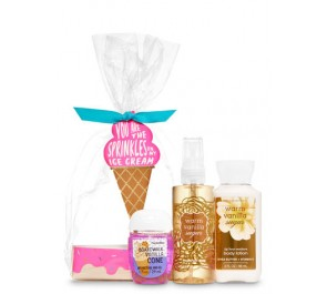 Подарочный набор Bath & Body Works Ice Cream Mini Gift Set - WARM VANILLA SUGAR