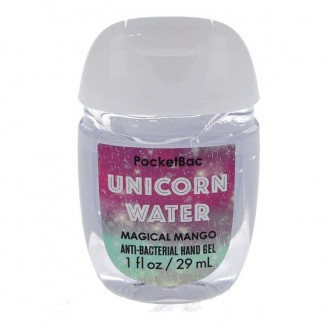 Антибактериальный гель для рук Bath and Body Works PocketBac Magical Mango Unicorn Water