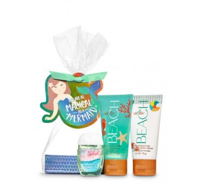 Подарочный набор Bath & Body Works Magical as a Mermaid Mini Gift Set - AT THE BEACH