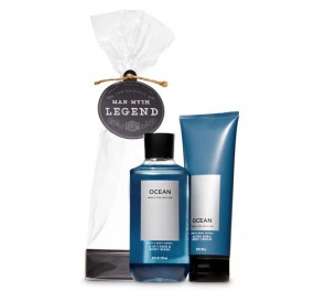 Подарочный набор Bath & Body Works Man, Myth, Legend Gift Set - OCEAN