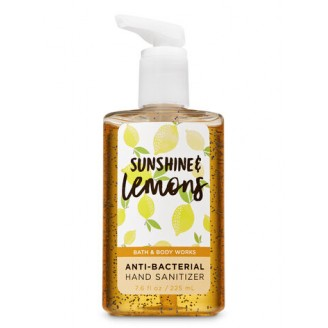 Антибактериальный гель для рук Bath and Body Works Anti-Bacterial Hand Sanitizer SUNSHINE & LEMONS