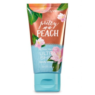 Парфюмированный крем для тела Bath & Body Works Ultra Shea Body Cream Travel Size - PRETTY AS A PEACH