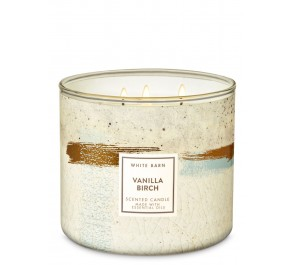Парфюмированная свеча Bath & Body Works 3-Wick Candle - VANILLA BIRCH