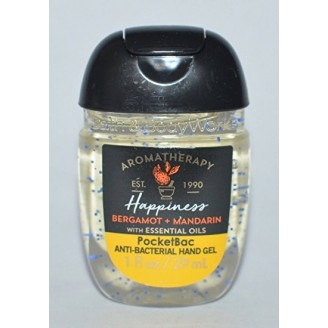 Антибактериальный гель для рук Bath and Body Works RocketBac Happiness Bergamot+Mandarin With Essential Oils