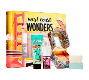 Набор Benefit West Coast Wonders Mini Face & Lip Set