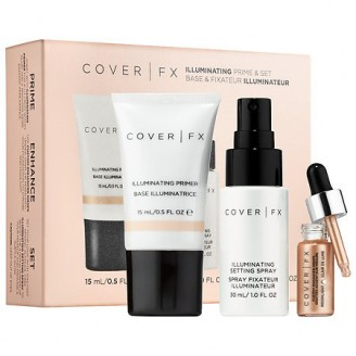 Набор COVER FX Illuminating Prime & Set Kit
