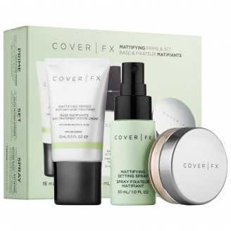 Набор COVER FX Mattifying Prime & Set Kit