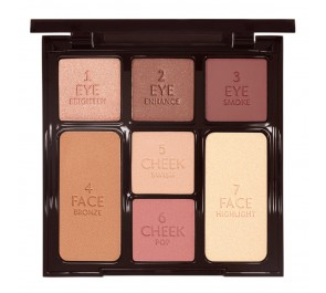Палетка для макияжа Charlotte Tilbury Instant look in a palette, gorgeous glowing beauty
