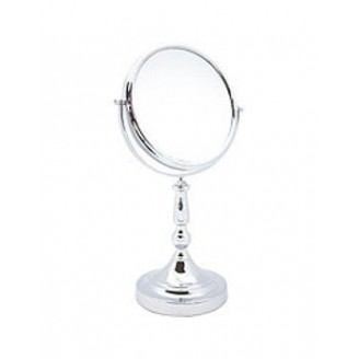 Зеркало настольное Danielle Sculpted Stem Vanity Mirror Chrome