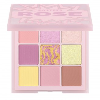 Палетка теней Huda Beauty Limited Edition Pastel Obsessions Eyeshadow Palette – Rose