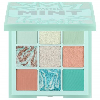 Палетка теней Huda Beauty Limited Edition Pastel Obsessions Eyeshadow Palette – Mint