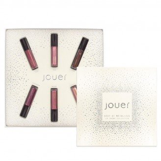 Набор помад Jouer Best of Metallics Mini Lip Creme Set