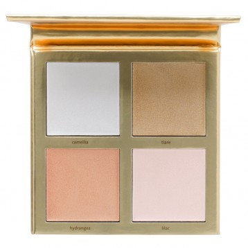 Палетка хайлайтеров Jouer Lucky & Luminous Crème Highlighter Palette