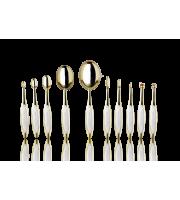 Набор кистей для макияжа ARTIS BRUSH Elite Gold 10 Brush Set