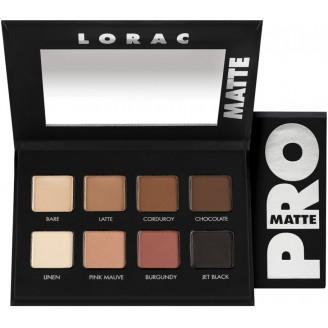 Палетка теней для век LORAC PRO Matte Eye Shadow Palette