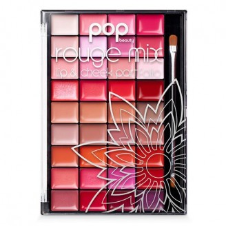 Палетка для губ и щек Pop Beauty Rouge Mix Lip and Cheek Portfolio