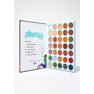 Палетка теней RUDE Fairy Tales Book 3 Eyeshadow Palette