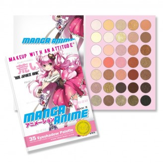 Палетка теней RUDE Manga Anime Book 2 Eyeshadow Palette