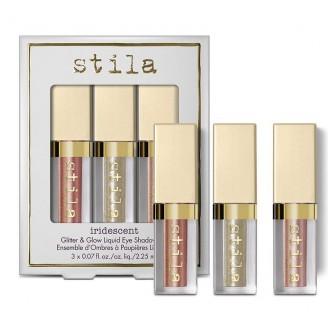 Набор жидких глиттеров для век Stila Iridescent Glitter and Glow Liquid Eye Shadow Set