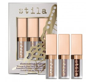 Набор жидких глиттеров для век Stila Shimmering Heights Shimmer & Glow Liquid Eye Shadow Set