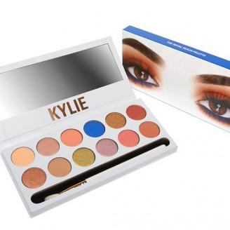 Уценка -Палетка теней Kylie Kyshadow The Royal Peach Palette