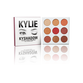 Палетка теней Kylie THE BURGUNDY PALETTE | KYSHADOW