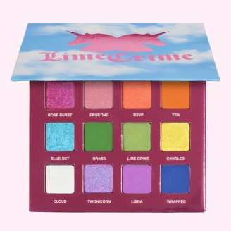 Палетка теней Lime Crime 10th Birthday Eyeshadow Palette