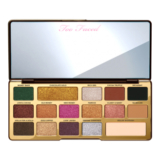 Палетка теней Too Faced Chocolate Gold Eye Shadow Palette